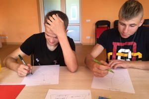 Socialinių įgūdžių ugdymas vaikams Akmenės rajono paramos šeimai centre