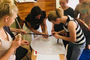 Grupiniai socialinių įgūdžių užsiėmimai Kelmės rajono vaiko ir šeimos gerovės centre